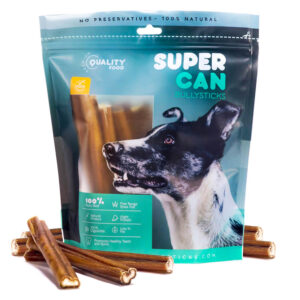 supercan bully sticks for dogs standard size
