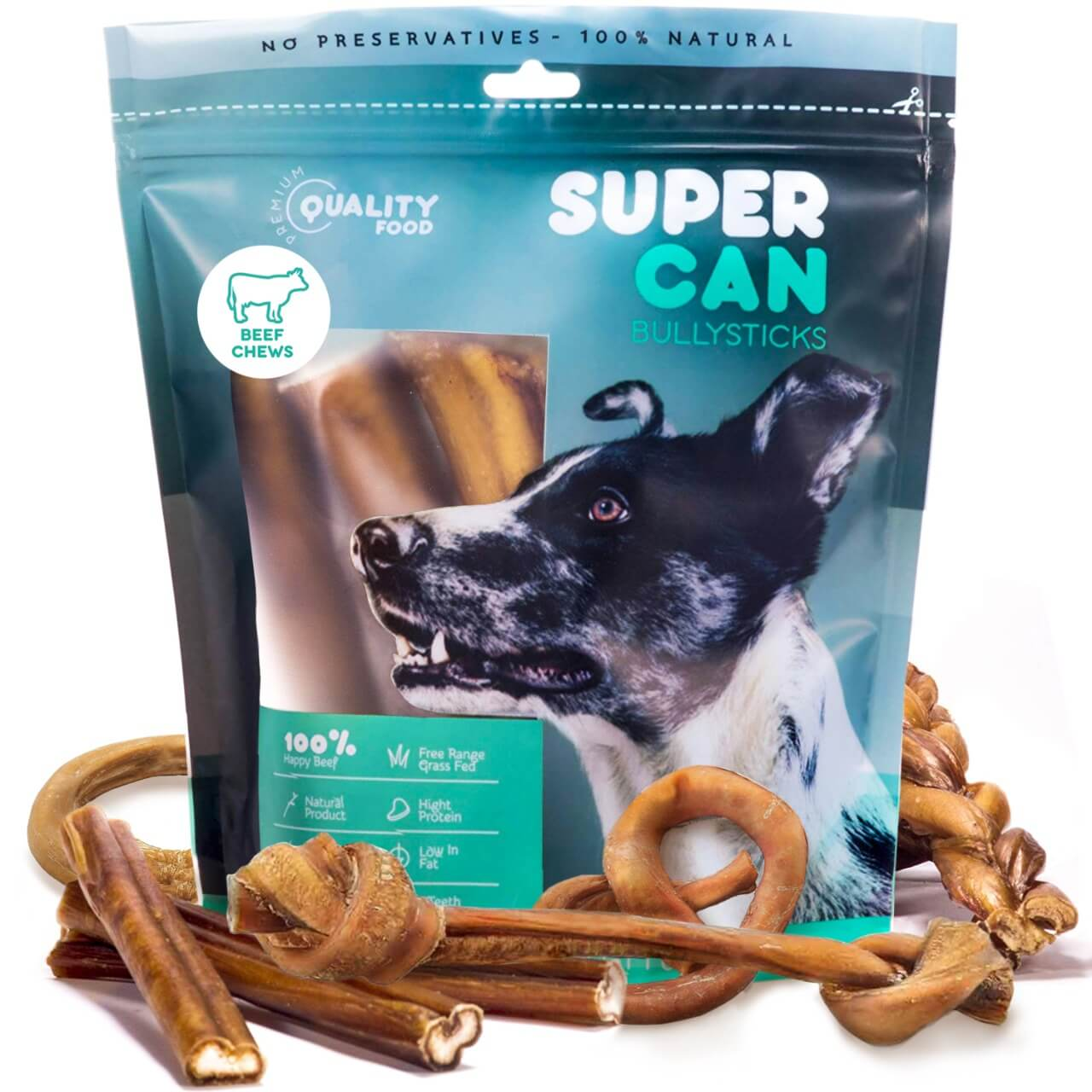 SuperCan Bully Sticks Variety Pack
